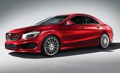 Mercedes-Benz CLA-Class Coupe Red