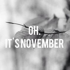 #winter #november