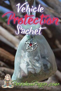 Penniless Pagan: Vehicle Protection Sachet Spell