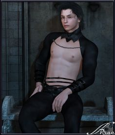 Void M4-H4 - $11.95 :This super conforming fantasy outfit for M4 and H4 consists of a Top and Trousers. It comes with 6 high resolution texture maps Bark, Ember, Forest, Gilded, Sky and Velvet.   Half price sale until June 13, 2015