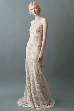 Sakura Bridal Gown in Champagne/Nude by Jenny Yoo