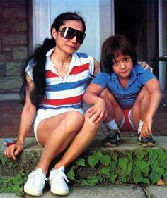 Yoko Ono and Sean Lennon John Lennon Yoko Ono, Julian Lennon, John Lennon Beatles, The Beatles, Kemp Muhl, Step Kids, Wife And Girlfriend, Daniel Radcliffe, Lady