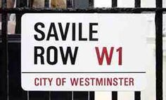 Savile Row, the internationally renowned address of some of the world's finest tailors