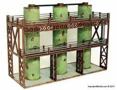 Industrial Vertical Storage Tanks - Impudent Mortal