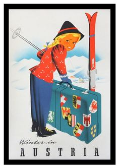 classic posters, free download, graphic design, retro prints, skiing, sports, travel, travel posters, vintage, vintage posters, skiing, spor...
