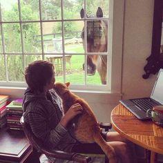 "@tracyporter_poeticwanderlust's photo: ""study mates"