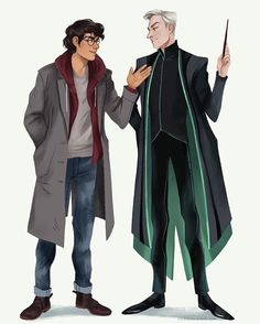 Harry Potter and Draco Malfoy beauty