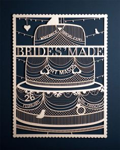 Student Work: Molly Weber: Bridesmade Identity and Collateral