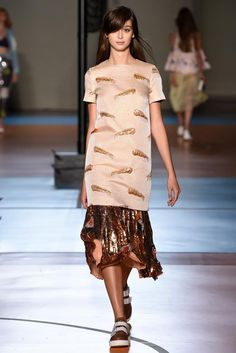Au Jour Le Jour Spring 2015 Ready-to-Wear - Collection - Gallery - Look 1 - Style.com