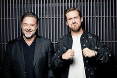 Crowe and Gosling in a Comedy? Seriously - The New York Times