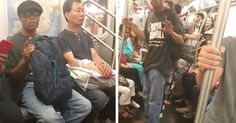 Footage Of Woman Screaming At Man For Masturbating On The Subway Is Incredible