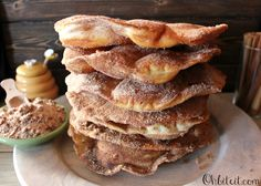 SUPER EASY AND FAST DESSERT!   Mmm..perfect with a steamy mug of Mexican Hot Chocolate!           Tortilla Elephant Ears    M grandma used to make these for me and they are delicious!~Melissa