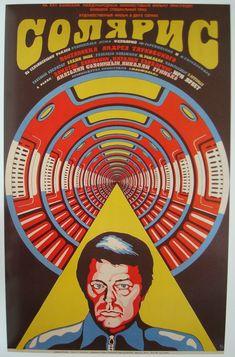 "Crazy poster for ""Solaris"" (1972)"