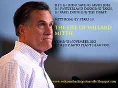 Poor super-wealthy Romney did everything in the name of God and profits.