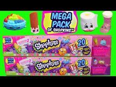 SHOPKINS SEASON 2 MEGA PACK 20-Pack Opening Frozen Elsa & Barbie Puppy Park DisneyCarToys - YouTube