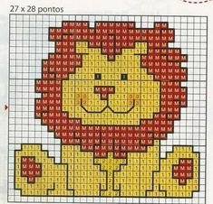 Thrilling Designing Your Own Cross Stitch Embroidery Patterns Ideas. Exhilarating Designing Your Own Cross Stitch Embroidery Patterns Ideas. Baby Cross Stitch Patterns, Cross Stitch For Kids, Cross Stitch Baby, Cross Stitch Animals, Baby Knitting Patterns, Cross Stitch Designs, Crochet Bookmark Pattern, Crochet Bookmarks, Cross Stitching