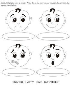 feelings projects to try pinterest feelings - Feelings Coloring Book
