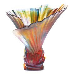 Palm Tree vase by Daum