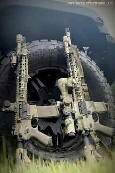 these are some good looking AR rifles