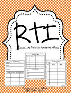 JD's Rockin' Readers: RTI Progress Monitoring FREEBIE