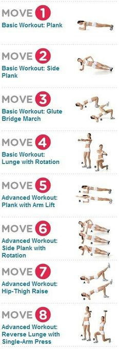 lower body and abs work out