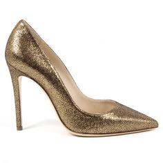 V 1969 Italia Womens Pump Bronze Ester Leather Heels, Calf Leather, Club Style, Fashion Night, Classy Women, Stiletto Heels, Shoes Heels, Versace, Calves