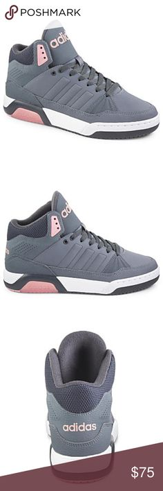 adidas Play9tis Women's Shoe Rock a court-inspired casual look in the Play9tis women's shoe by adidas. It features a cool mid-cut design and a supple leather construction for incredible comfort. (no trades) adidas Shoes Sneakers