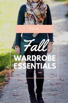2016 Fall Wardrobe Essentials #NSale