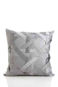 "Lattice Dupioni Pillow - 18"" x 18"" by Aviva Stanoff Design on @HauteLook"