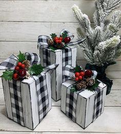Handmade Christmas Presents, Christmas Wood Crafts, Noel Christmas, Country Christmas, Outdoor Christmas, Christmas Projects, Winter Christmas, Holiday Crafts, Christmas Wreaths