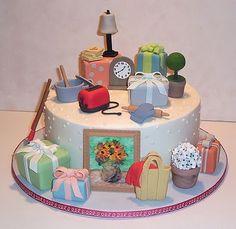 Wedding Gifts cake for Bridal shower.