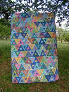 Grandma Sal's Quilt Place: Balancing Act - this time complete