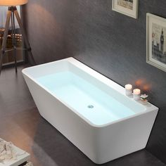 Badkar Bathlife Andrum - Hörnbadkar - Badkar - Bygghemma.se