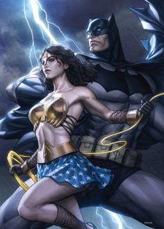 Batman Love, Batman Wonder Woman, Batman Art, Batman Vs Superman, Dc Comics Characters, Dc Comics Art, Comics Girls, Fictional Characters, Batgirl