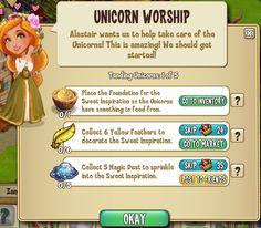 Castleville+Game+Yvette+Tending+Unicorns+Quests.png (635×556)