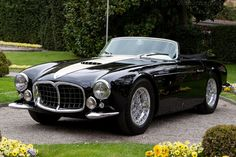 1953 Maserati A6GCS/53 Frua Spider  Drive away in this after the ceremony?