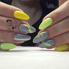 Make an original manicure for Valentine's Day - My Nails Spring Nails, Summer Nails, Nail Art Printer, American Nails, Nagellack Design, Yellow Nails, Halloween Nail Art, Nagel Gel, Beautiful Nail Designs