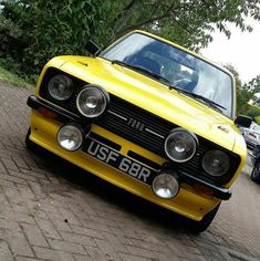 Ford Classic Cars, Ford Escort, Car Ford, Nice Cars, Mk1, Sport Cars, Cars And Motorcycles, Automobile, School