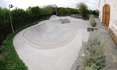 Backyard skate parks (© Pillar Design Studios LLC)