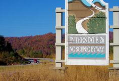 Favorite NC Mountain Fall Scenic Drive: I-26 West in Madison County to the Tennessee state line