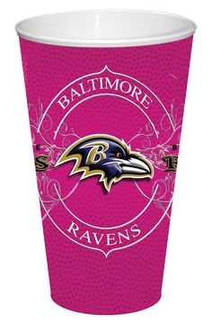 Baltimore Ravens BCA Wordmark Scarf - Pink | Baltimore Ravens ...