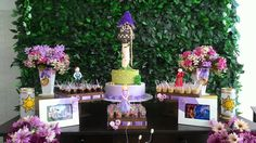 Decoração Rapunzel - Enrolados