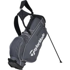 TaylorMade 5.0 Golf Stand Bag Grey/White - Golf Equipment, Golf Bags at Academy Sports