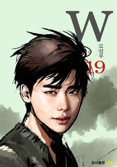 Resultado de imagen para two worlds w webtoon cover 02 Lee Jong Suk Cute, Lee Jung Suk, Doctor Strange Drama, W Two Worlds Art, Kdrama W, Lee Jong Suk Doctor Stranger, Manhwa, W Korean Drama, Kang Chul