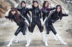 Crayon Pop Channel Power Rangers, Sailor Moon in 'FM' Video | Billboard