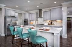 Amazing New Homes In Cary, NC   Darlington Woods The Rockingham Kitchen
