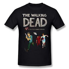 TTshirts Mens T-shirt Running Walking Dead Size S Black @ niftywarehouse.com #NiftyWarehouse #Nerd #Geek #Entertainment #TV #Products