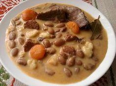 Paprikás krumpli: Jókai bableves
