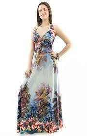Resultado de imagem para vestido longo viscolycra estampado de manguinha
