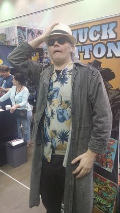 Back to the future cosplay at our Comikaze Expo 2015 booth. www.itcamefromplanetearth.net
